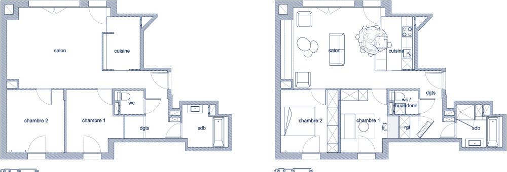 tranche de vie architecte paris 18 me bardin architecte architecture int rieur paris. Black Bedroom Furniture Sets. Home Design Ideas
